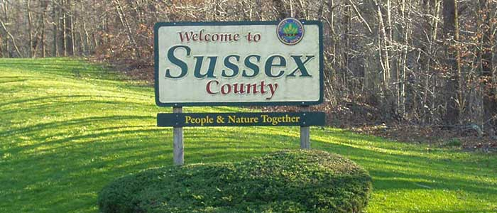 Welcome to Sussex County