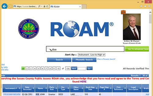 Screenshot of ROAM