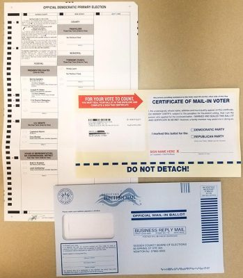 vote by mail contents